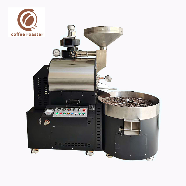 Roasting Machine Coffe 15Kg Batch Gas Industry Coffee Roaster