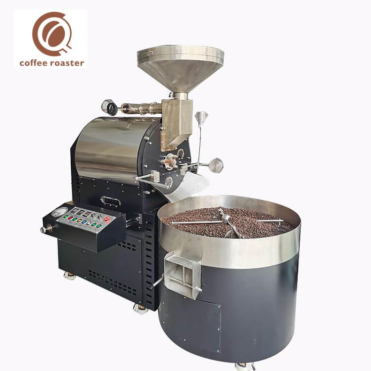 15Kg Cafe Machine Commercial Big Capacity Cocoa Bean Roasting Machine