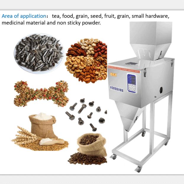 3kg filling machine coffee weighing filling machine 3