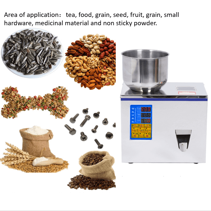 99g 100g filling machine coffee filling machine small 6